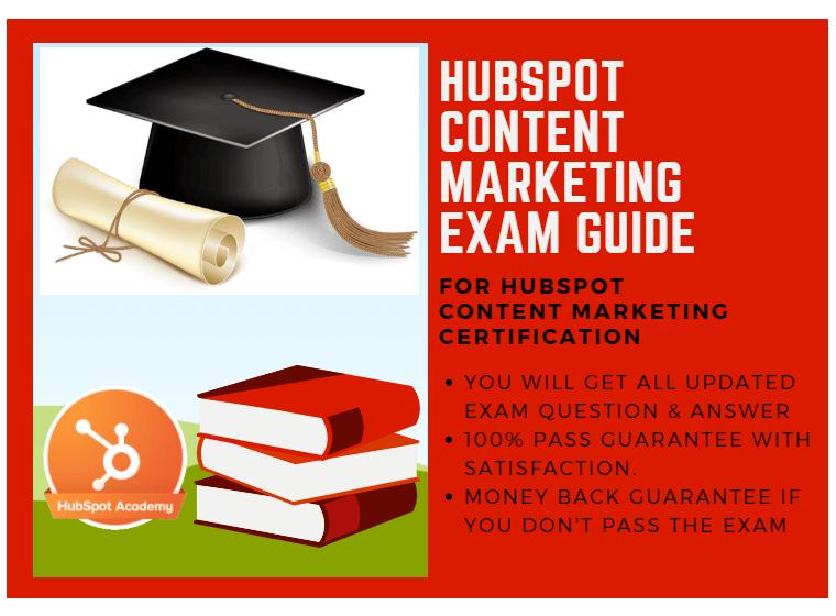 HubSpot Content Marketing Exam Answer 2018 for HubSpot Content ...