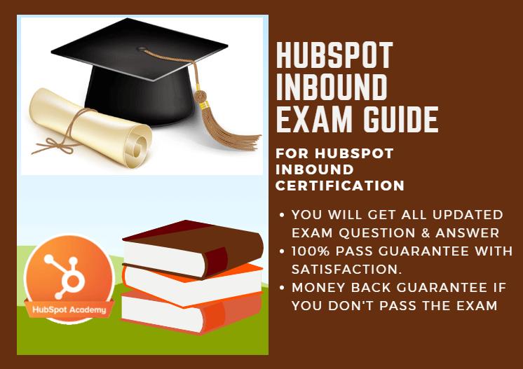 Hubspot Inbound Exam Answer 2018 For Hubspot Inbound Certification