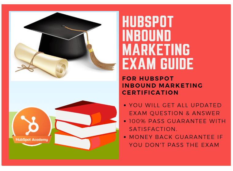 HubSpot Inbound Marketing Exam Answer 2018 for HubSpot Inbound ...