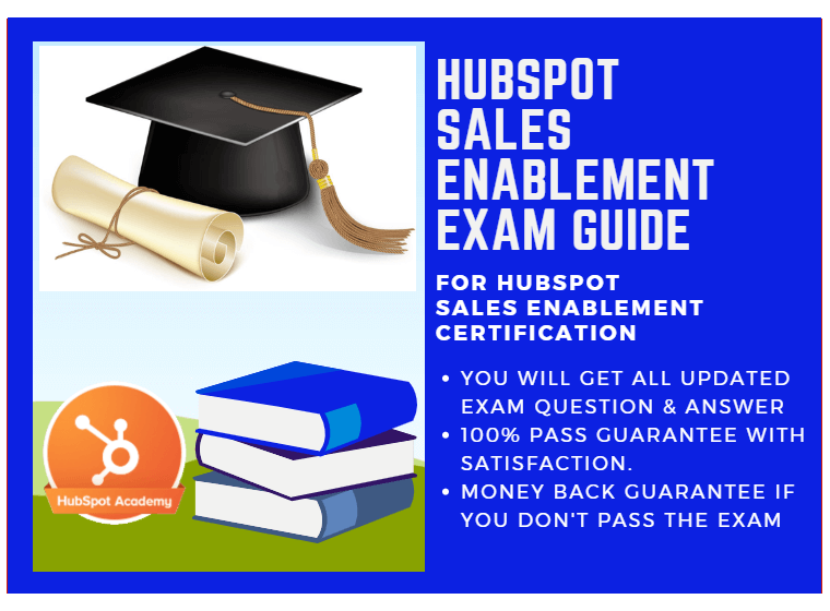 HubSpot Sales Enablement Exam Answer 2018 for HubSpot Sales ...